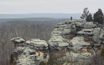 Hiking Southern Illinois during the COVID-19 Pandemic