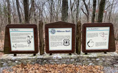 Hiking with Shawn's Trail Guide Series: Millstone Bluff