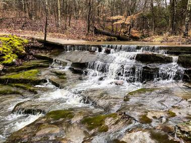 Goreville Boy Scout Trail Waterfall