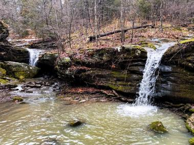 Rebman Trail Waterfalls