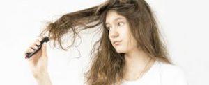 パサパサ髪の毛