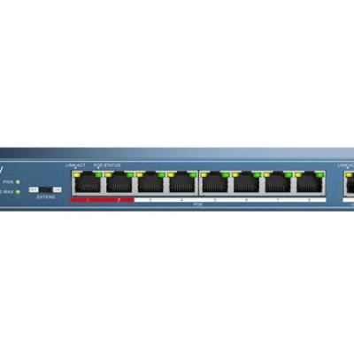 Hikvision 8port PoE Switch | Hikvision DS-3E0109P-E 8port PoE Switch