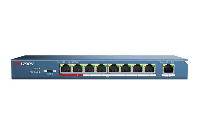 Hikvision 8port PoE Switch   Hikvision DS-3E0109P-E 8port PoE Switch