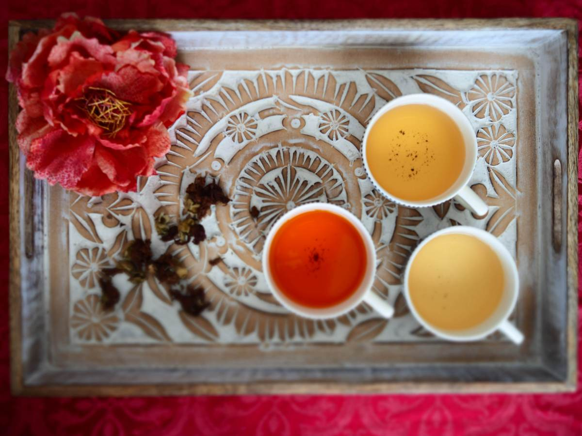 mindfulness, and a cup of tea