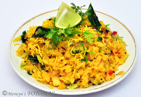 Puneri Kande Pohe Hildas Touch Of Spice