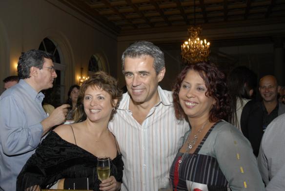 ana duraes sergio goncalves galeria almacen e ana luisa lima Galeristas nacionais e internacionais na ArtRio 2011
