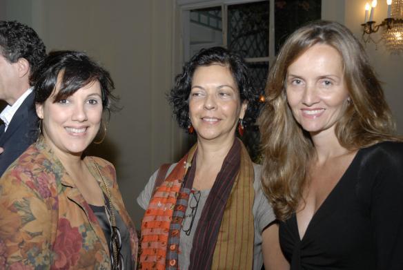 mariana varzea martha pagy e jaqueline vojta Galeristas nacionais e internacionais na ArtRio 2011
