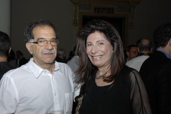miguel saad e ana maria tornaghi Galeristas nacionais e internacionais na ArtRio 2011