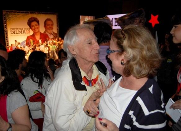 DSC 0320 Cultura em peso com Dilma no Teatro Oi Casa Grande