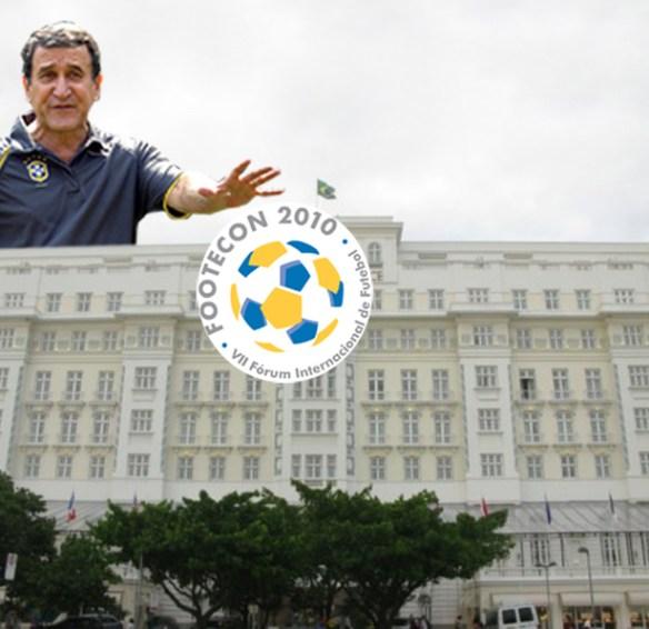 Footecon 20101 Copacabana Palace em clima de futebol!