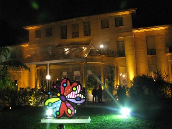 Lilibethblog 202 Uma borboleta gigante no jardim dos Monteiro de Carvalho