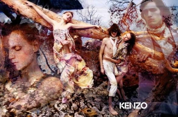 kenzo spring campaign buero 1 MARIO SORRENTI spring 2009 Os 40 anos da Kenzo celebrados em Paris, mas sem o Kenzo...