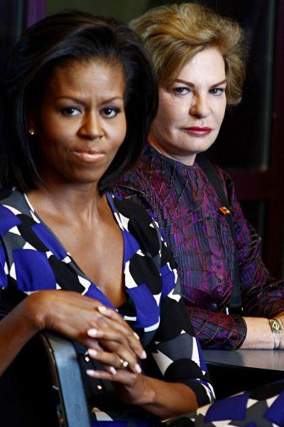 20090925214420 106617 large marisa leticia e michelle obama Marisa Letícia Lula da Silva: as palavras que precisavam ser ditas