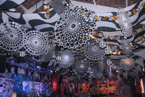 Hípica-decoração da parte de cima do salão