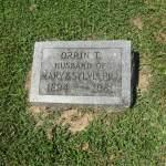 Orrin Todd Hill Tombstone