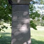 Owen Thomas Sanders Tombstone