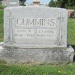 Tombstone John Wesley Cummins
