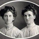 Willamina Maude Sanders and mother