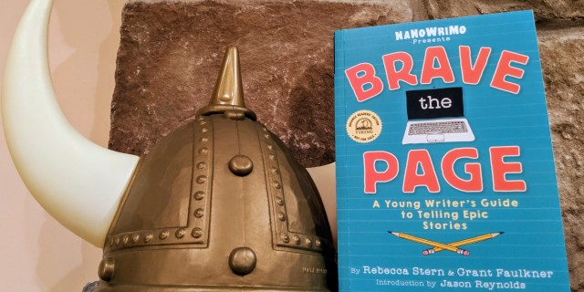 Brave the Page Review: NaNoWriMo's Young Writers Program Writing Guide