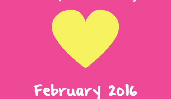 February 2016: In which I was mostly sick all month but also wrote some stuff