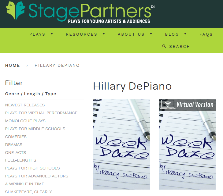 Week Daze now available in stage play and streaming format from Stage Partners