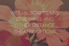 Virtual Scripts, Live Streaming and other Distance Theatre options