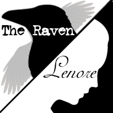 The Raven / Lenore by Hillary DePiano based on / inspired by Edgar Allan Poe's The Raven