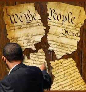 SHREADING THE CONSTITUTION