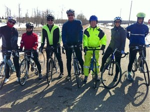 First outdoor ride Apr 21