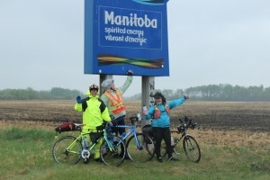 We made it to Manitoba!