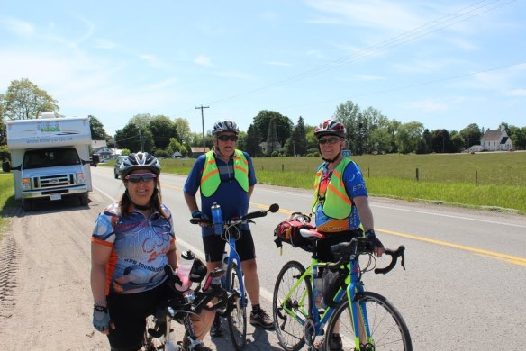 On the way to Orillia, Ontario Click the image for pictures from day 43