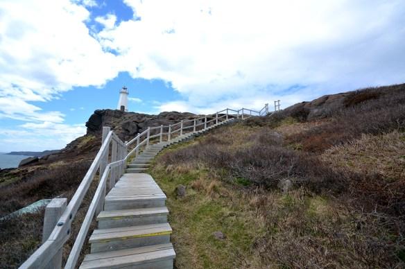 St. John's, Cape Spear. New Lighthouse. Photo courtesy of flickr user: SvenBergström http://flic.kr/p/eoqEpR
