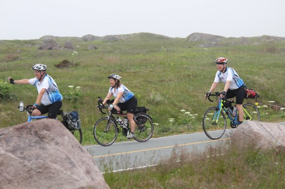 The team arrives at Cape Spear Follow the links below for more images from the final days