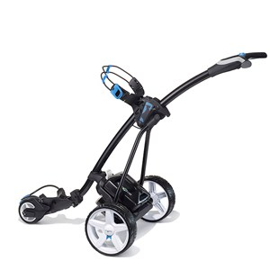 Black with Blue Trim and Standard lithium battery