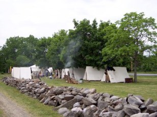 Civil War Re-enactment at Hill-Hold