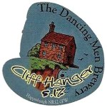 Cliff Hanger craft ale from The Dancing Men Brewery, Happisburgh Norfolk