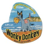 Wonkey Donkey craft ale from The Dancing Men Brewery, Happisburgh Norfolk
