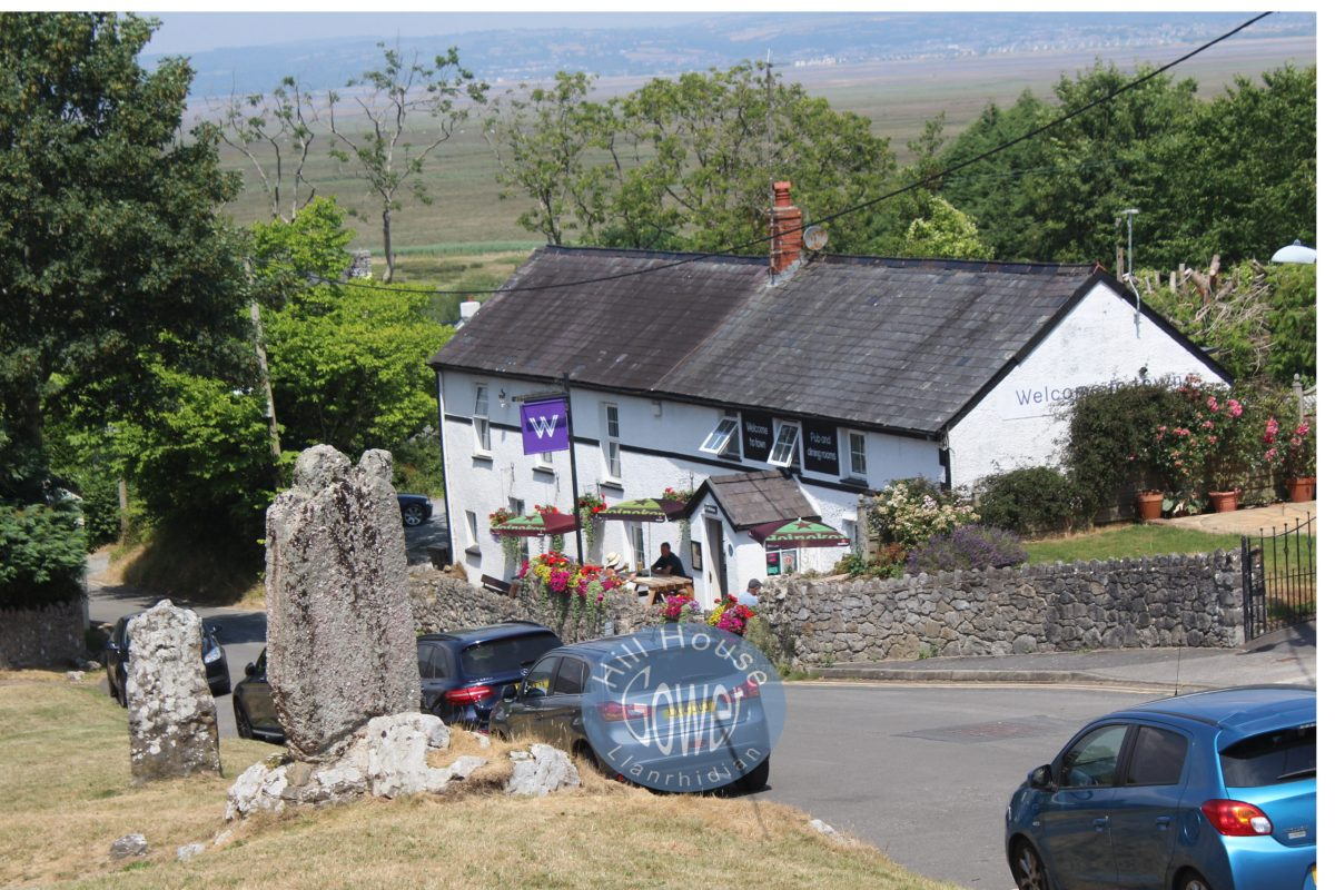 The Welcome to Town Llanrhidian