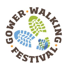 Gower walking festival logo