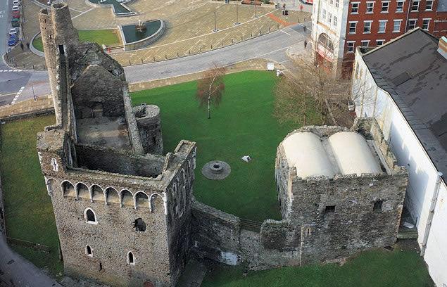 Swansea Castle Gower