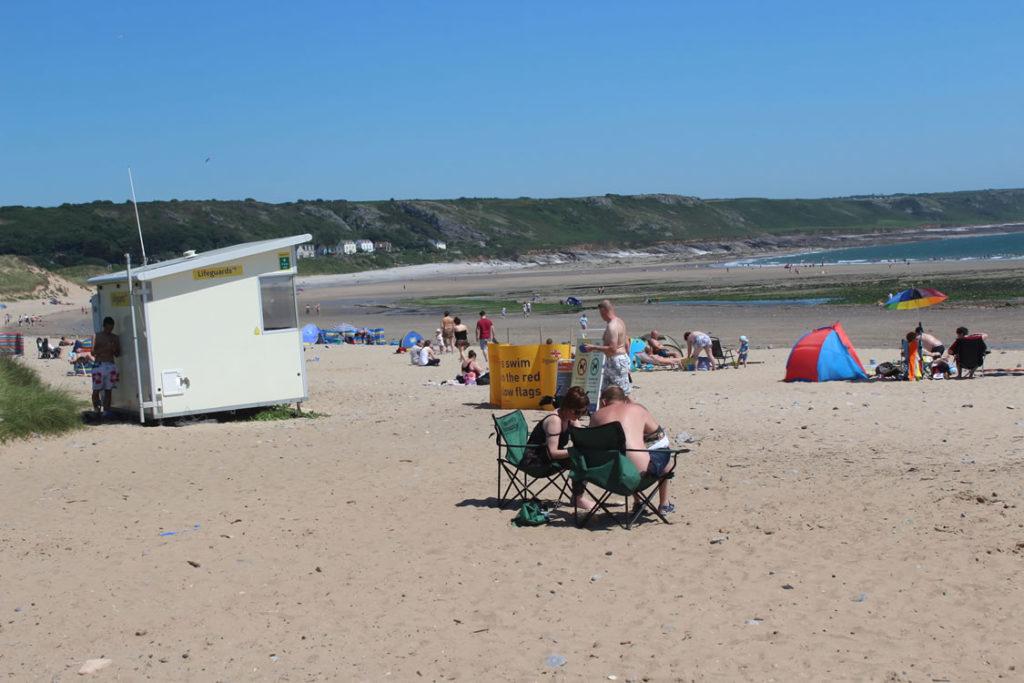 Gower Beaches - Port Eynon Gower