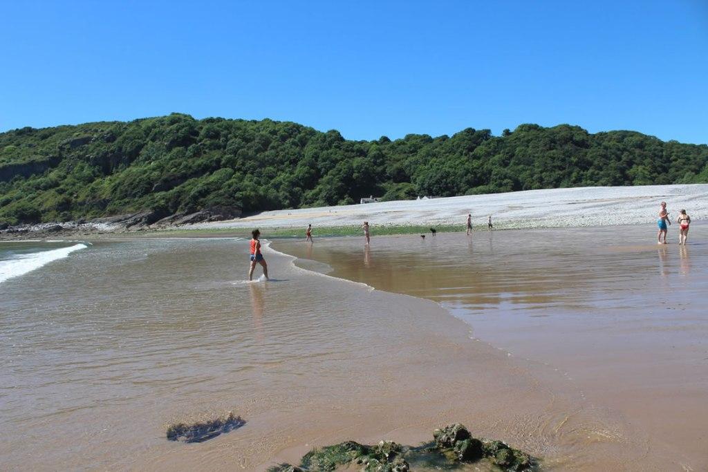 Gower Beaches - Pwll Du bay