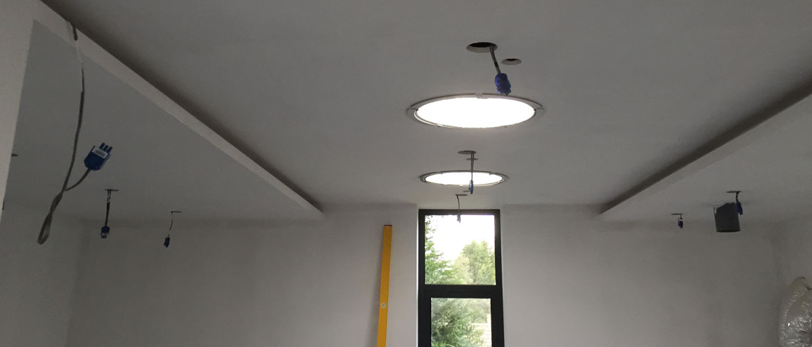 coffered ceiling installations