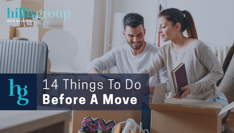 moving checklist: 14 things to do before a move