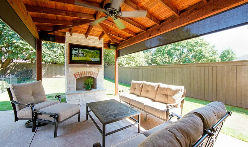 Outdoor Kitchens, Patio Covers | Fort Worth, Burleson TX ... on Complete Outdoor Living id=81623