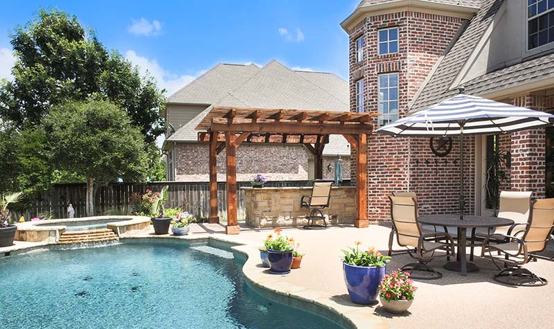 Outdoor Kitchens, Patio Covers | Fort Worth, Burleson TX ... on Complete Outdoor Living id=12032