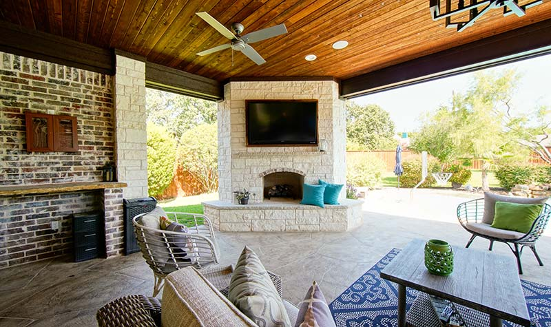 Hillman Outdoor Living Porfolio | Colleyville, Fort Worth TX on Complete Outdoor Living id=16552