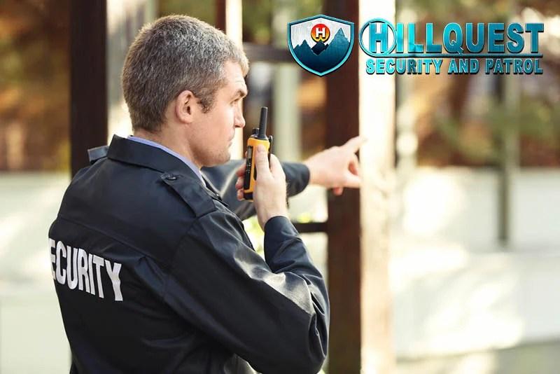 a Los Angeles Security Patrol