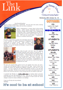 The Link 2015 Issue 33