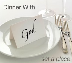 Image result for dinner with god